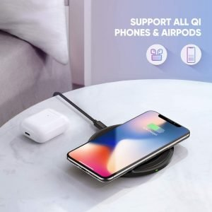 UGREEN Wireless Charger for iPhone & Android, 7.5W/10W