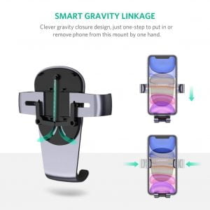 UGREEN Gravity Air Vent Car Mobile Holder with Auto-Grip
