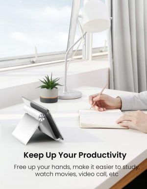 UGREEN iPad Stand, Foldable, Adjustable & Portable Stand