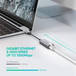 UGREEN USB to Ethernet Adapter, 10/100/1000 Mbps