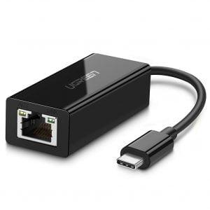 UGREEN USB C to Ethernet LAN Adapter, 10 100 1000 Mbps
