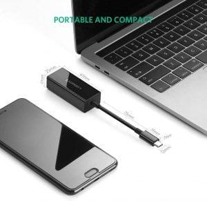 UGREEN USB C Ethernet Adapter, 10/100/1000 Mbps