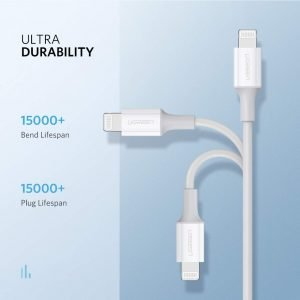 UGREEN USB C to Lightning Cable, 18w PD Fast Charging, 1 Meter