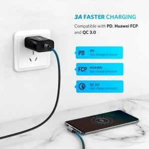 UGREEN USB C to Right Angle USB C Cable, 60W PD Fast Charging, 1 Meter