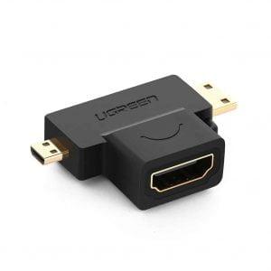 UGREEN Micro HDMI_Mini HDMI to HDMI Adapter
