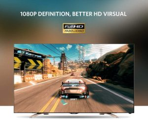 UGREEN VGA to HDMI Adapter, Full HD Output @1080P and Audio