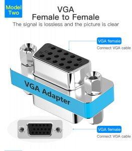 VGA female to female adapter