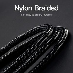 VENTION 3.5mm to 6.5mm Audio Cable Nylon Braided, 5 Meters