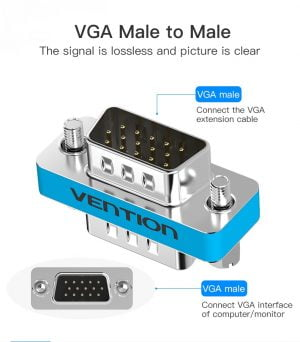 VENTION VGA Male to Male Adapter