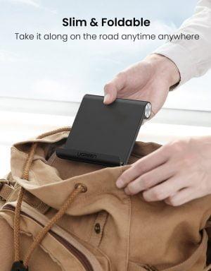 UGREEN Tablet Holder, Foldable and Adjustable, Black