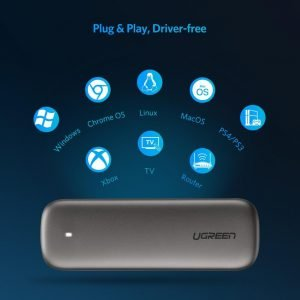 UGREEN M.2 SSD Enclosure USB C to NGFF B+M/B-Key 2280/2260/2242/2230