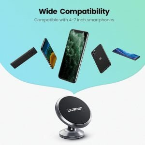 UGREEN Magnetic Car Phone Holder Dashboard Mobile Mount Stand, Strong Adhesive
