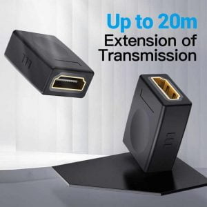 VENTION HDMI Extender, 4k HDMI 2.0 Female to Female Connector, 1 Piece