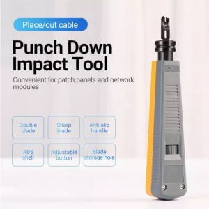VENTION Network Punch Down Tool with Double Blade