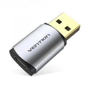 VENTION USB to USB C Audio Adapter