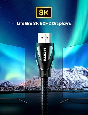 UGREEN 8K HDMI Cable, 48Gbps Fast Transfer Speed, 1 Meter