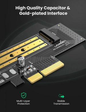 UGREEN NVME to PCle 3.0 Adapter SSD Expansion Card