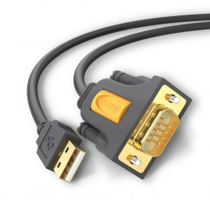 UGREEN USB 2.0 to RS232 Cable with PL2303 Chipset, 3 Meters